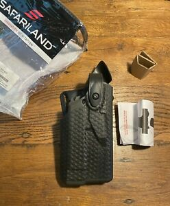 Safariland 7365 ALS/SLS Lev-3 RH Duty Holster, SIG P320 Carry & Compact w/ LIGHT