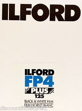 1 x Box 25 sheets ILFORD FP4  4x5 Sheet Film(5x4in)  by 1st Class Post