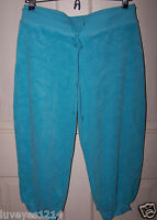 Victorias Secret LUSH PLUSH Sweatpants-capri-cropped-Lounge Pants TERRY S Sm