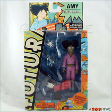 Futurama Amy Wong Toynami Action Figure with santa robot build-a-bot parts
