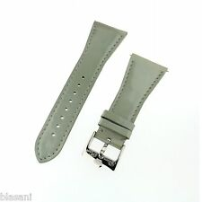 GLAM ROCK GS1082 Silver Patent Leather 26mm Original Strap NEW!!!