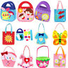 DIY Non-woven Handbag Children Funny Handmade Toy Educational  Style Random~