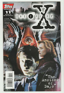 X-FILES  -  ISSUE # 11                                       TOPPS COMICS   1995