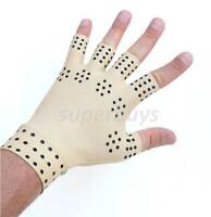 Magnetic Left Medium Edema Arthritis Compression Gloves Carpal Hand Ache Pain