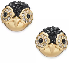 Auth Kate Spade Cute Penguin Studs Earrings NEW on the Card
