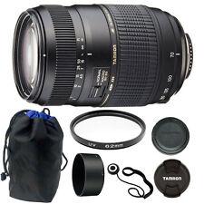 Tamron AF 70-300mm Macro Zoom Lens for Canon EOS Digital SLR Camera + 62mm Kit