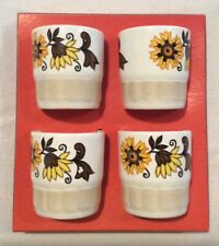 Palissy Worcester set of 4 Egg Cups