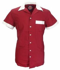 Collared Bowling Loose Fit Casual Shirts & Tops for Men