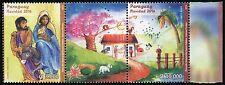 Paraguay 2016 Weihnachten Christmas Navidad Kinderzeichnung Postfrisch MNH