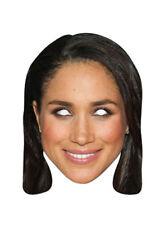 Meghan Markle Royal Single 2D Card Party Face Mask - Royal wedding 2018