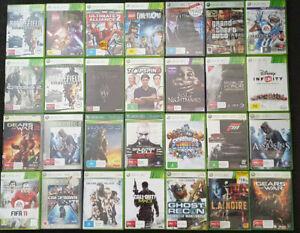 Xbox 360 Games - Choose your game! PAL AUS Lego GTA Halo COD FIFA NBA