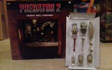 NEW NECA Predator 2 Trophy Wall Diorama (LTD TO 5000)  Free Skull pack included