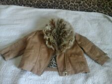 baby girls river island coat age 0-3 months worn once in very good condition