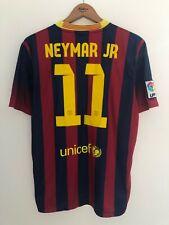 FC BARCELONA 2013/2014 HOME FOOTBALL SOCCER SHIRT JERSEY CAMISETA NIKE NEYMAR