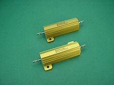 2 x 1000 Ohm 50W non-inductive Power Resistors -> 211 tube amp Röhrenverstärker