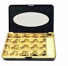 LuxeLash Case False Eyelash Storage Box Container Organizer Fake Strip Lashes