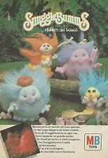 X2412 MB TOYS - Snuggle Bumms i folletti del bosco - Pubblicità 1986 - Advertis.