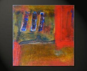 Moderne Kunst! Abstrakte Bilder RUSTY Iby FIONA RITZ