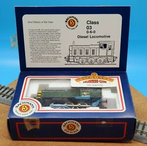 Vintage Bachmann OO Scale Class 03 Diesel Loco D.2012 Code No. 31-351 NEW WOW!!!