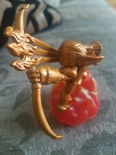 Golden Gold Exclusive Flameslinger Skylanders Giants Rare Variant Figure