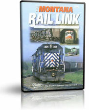 Montana Rail Link - Pentrex Railroad Burlington Northern Sandpoint Train Video