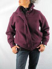 Woolrich Vintage Women's Deep Purple Wool Jacket. Pleated Back  WLRM