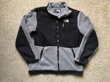 Boys Vintage The North Face Fleece Gray Jacket Size M 10-12