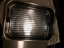 Grill/steamer/smoker stovetop Camerons (CM Int'l. Inc) brand stainless steel