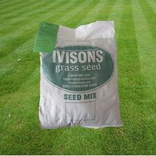 5kg PREMIUM HARD-WEARING TOUGH LAWN GRASS SEED DEFRA CERTIFIED IVISONS SEEDS