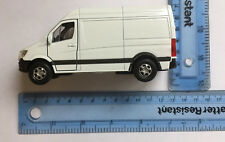 Diecast White Mercedes Benz Sprinter Van 2015 Model Nex Models