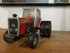 Vintage Massey Ferguson 698 tractor with dual rear wheels by Ertl Usa 1/20 scale