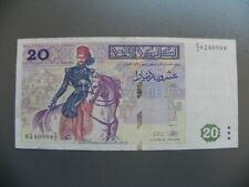 Tunesie  Banknoten 20 Dinars 1992