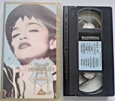Madonna The Immaculate Collection 1990 VHS feat.Like A Prayer, Lucky Star, Vogue