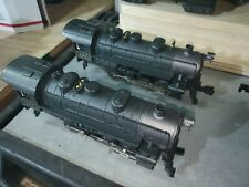 (2) Lionel polar express 1225 locomotive (2) Penn Flyer Loco 421