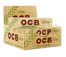 Authentic OCB Organic Hemp King Size Natural Rolling Smoking Paper Skins Rizla