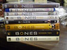 (8) Bones Season DVD Lot: Seasons 1, 2, 3, 4, 5, 6, 7 & 8     (1) Brand NEW