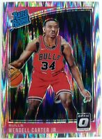 2018-19 Panini Donruss Optic Rated Rookie Shock Prizm Wendell Carter Jr RC #170