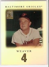 EARL WEAVER SP RARE 2001 TOPPS TRIBUTE SET 66 BALTIMORE ORIOLES HOF