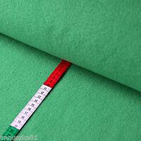 Fleece Stoff Uni Einfarbig Grün - Polarfleece Vlies - Lambskin