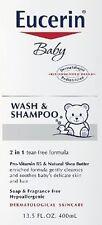 Eucerin Baby Wash & Shampoo, 13.5 oz (Pack of 12)