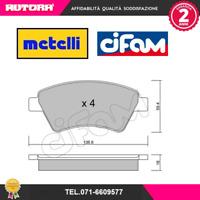 8225440 Kit pastiglie freno a disco ant.Renault Megane II (MARCA CIFAM,METELLI)