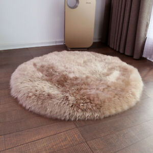Wool blanket Custom size winter thick bed cover bed mat Round carpet floor rug