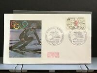 France 1972  Olympics First Day  stamp cover R31584
