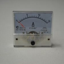 DC 0~15A 85C1 Analog AMP Current Panel Meter Ammeter 15a