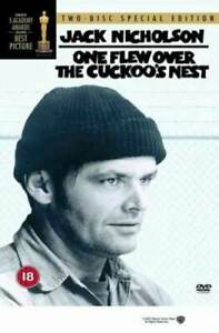 One Flew Over the Cuckoo's Nest DVD (2002) Jack Nicholson, Forman (DIR) cert 18