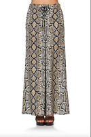 new CAMILLA KAKADU BOO LACE UP FRONT FLARED PANT L layby avail