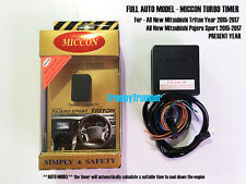 MICCON FULL AUTO Turbo Timer MITSUBISHI ALL NEW TRITON PAJERO SPORT 2015-2017
