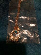 Korean Style Charm Popular 925 Silver Drop Zircon Crystal Necklace Jewelry DZ98