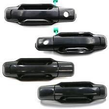 4Pcs Front Rear LH RH Exterior Door Handle Black for Kia Sorento 2003 2009 EX LX