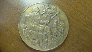 1981 Franklin Mint Annual Calender Bronze Medal No Box or Papers SEE PICS